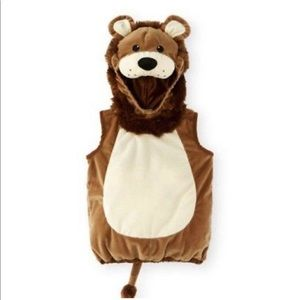 Koala Kids Baby Lion Hooded Costume Size 9-12 Mont